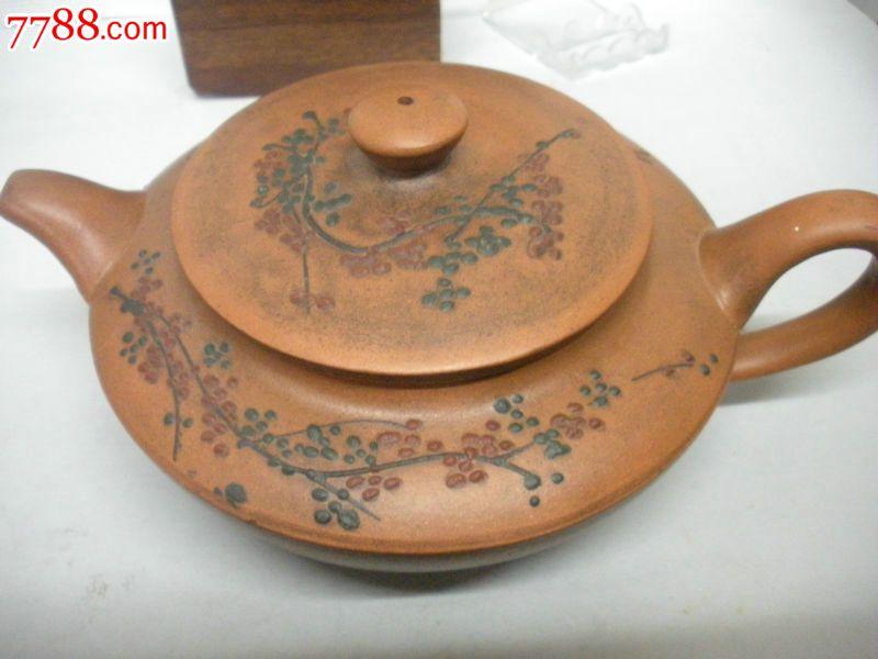 高档紫砂壶收藏精品古代名家梅花老茶壶