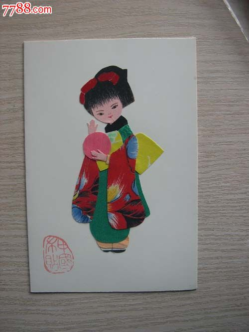中国布贴画图片