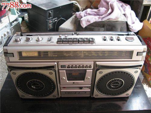 夏普sharp单卡收录机型号gf-8585x