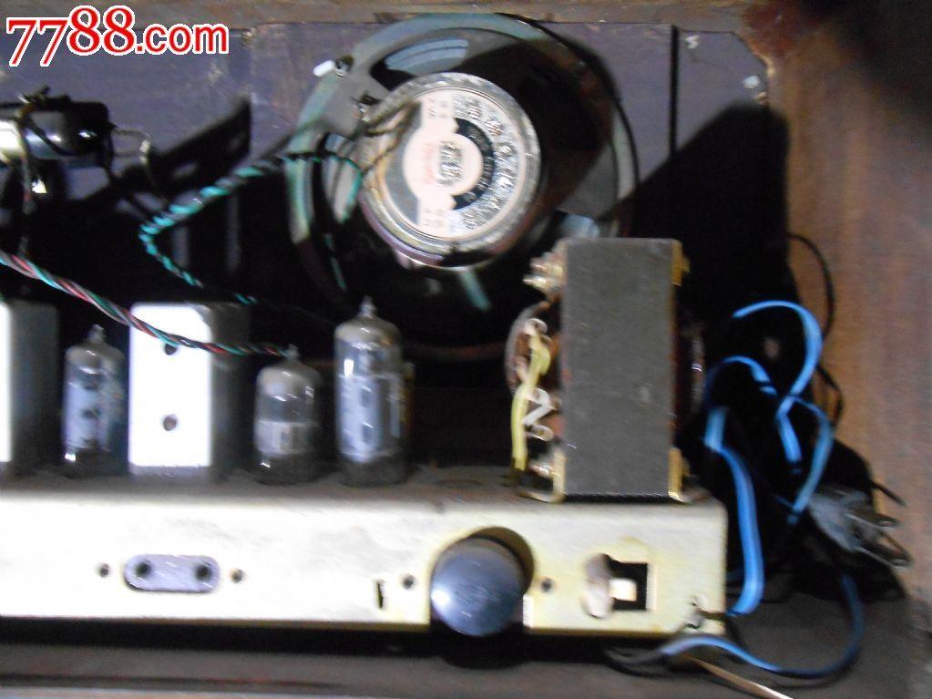 红灯牌711--3电子管收音机
