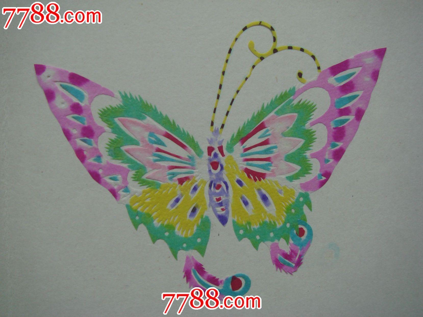 蝴蝶风筝制作及步骤