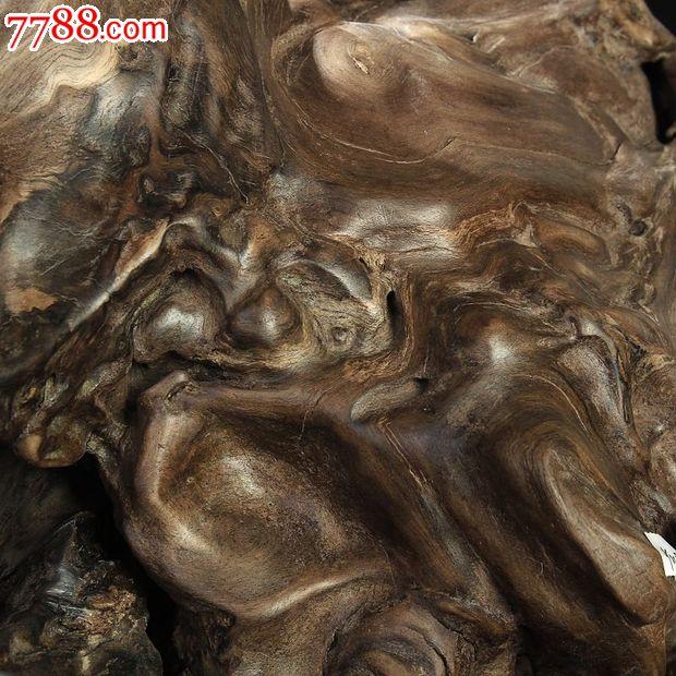 宜居品阁天然根雕奇石乌木/阴沉木根艺摆件自然件