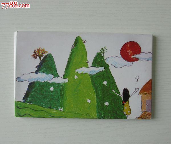 儿童自制明信片