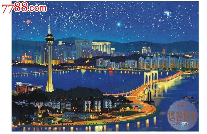 手绘明信片:印象珠海