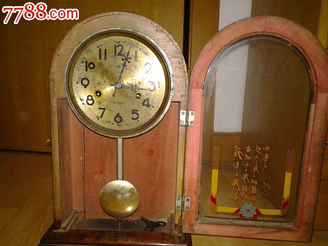 古老钟矢量图