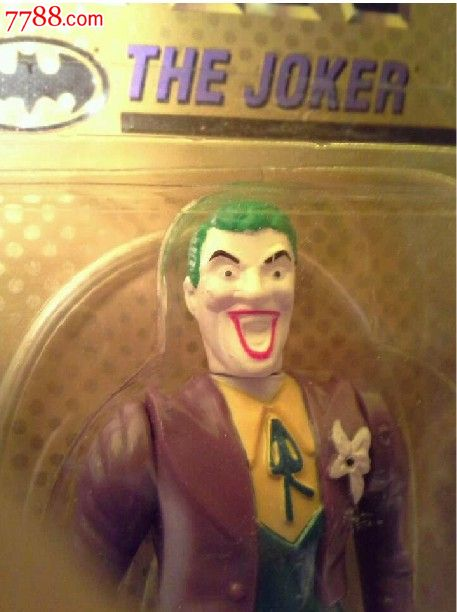 小丑joker(toybiz198*电影版绝版老版全新未拆罕有)