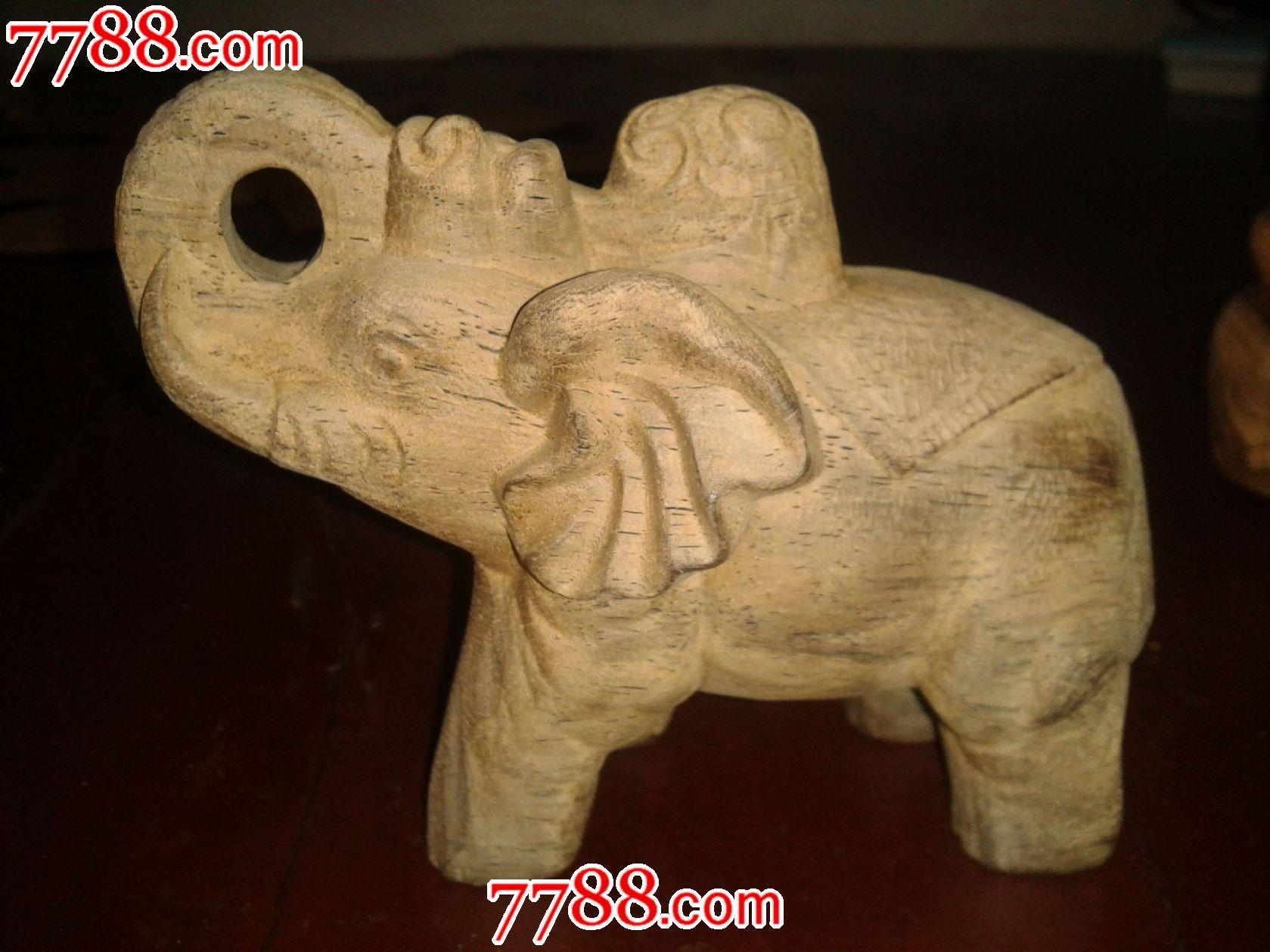 属性: 木雕动物摆件,,其他木质,,年代不详,,立体圆雕,,,,, 简介: 缅甸