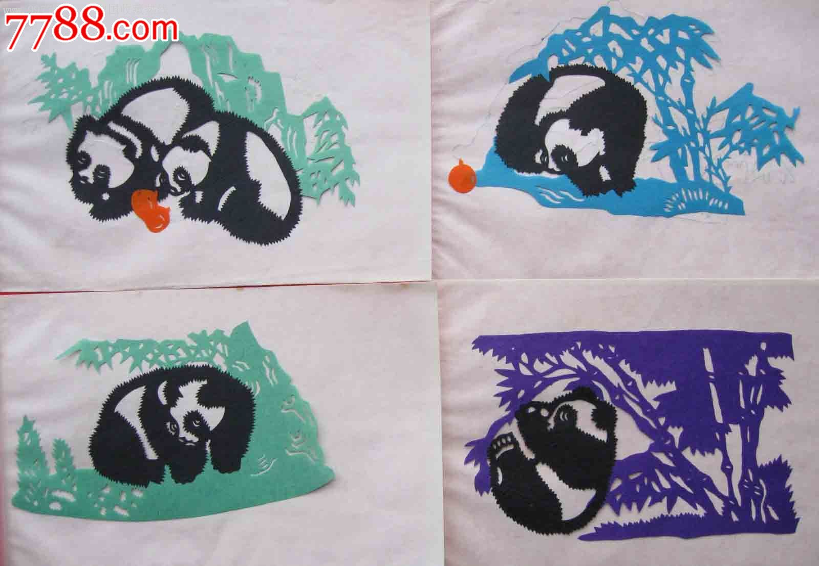 熊猫帽子织法图解
