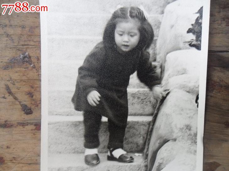 民国可爱小女孩老照片【有特色】