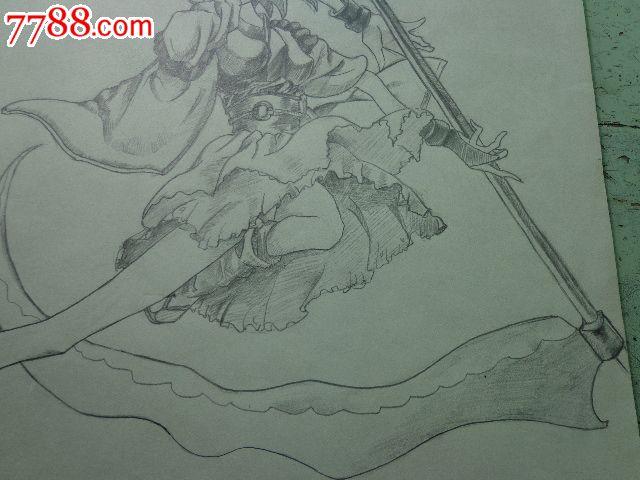 动漫人物铅笔画_价格28元