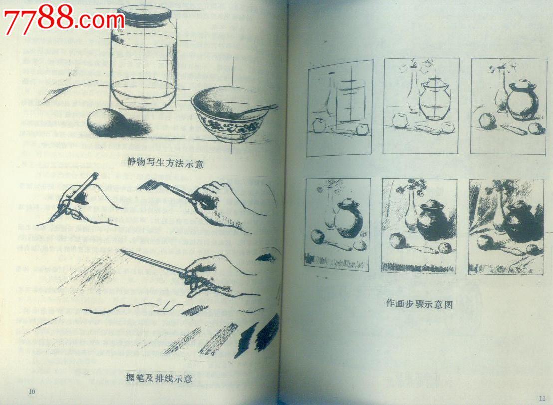 中国书画函授大学《素描入门》(多幅插图)图片
