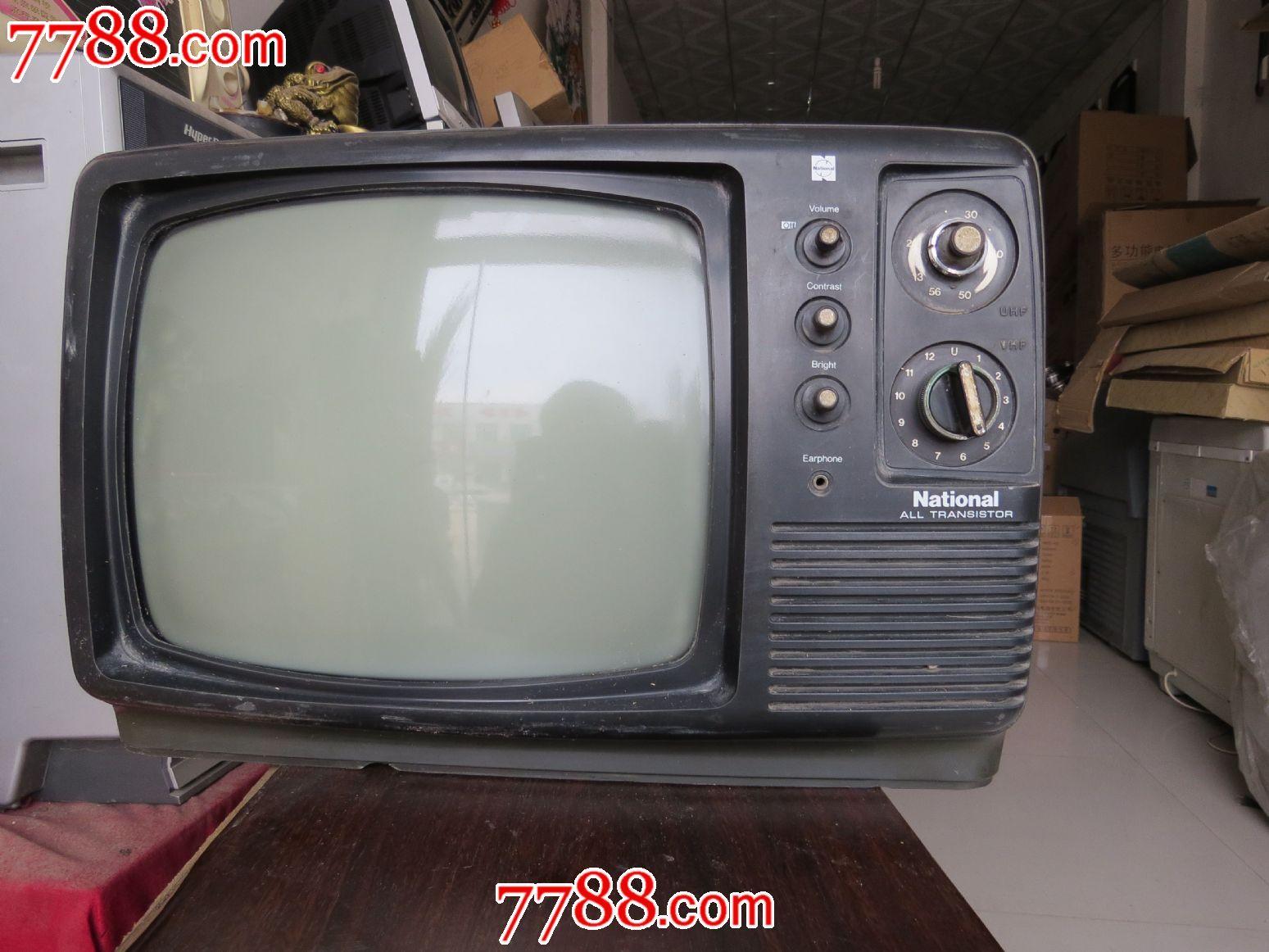 松下黑白电视