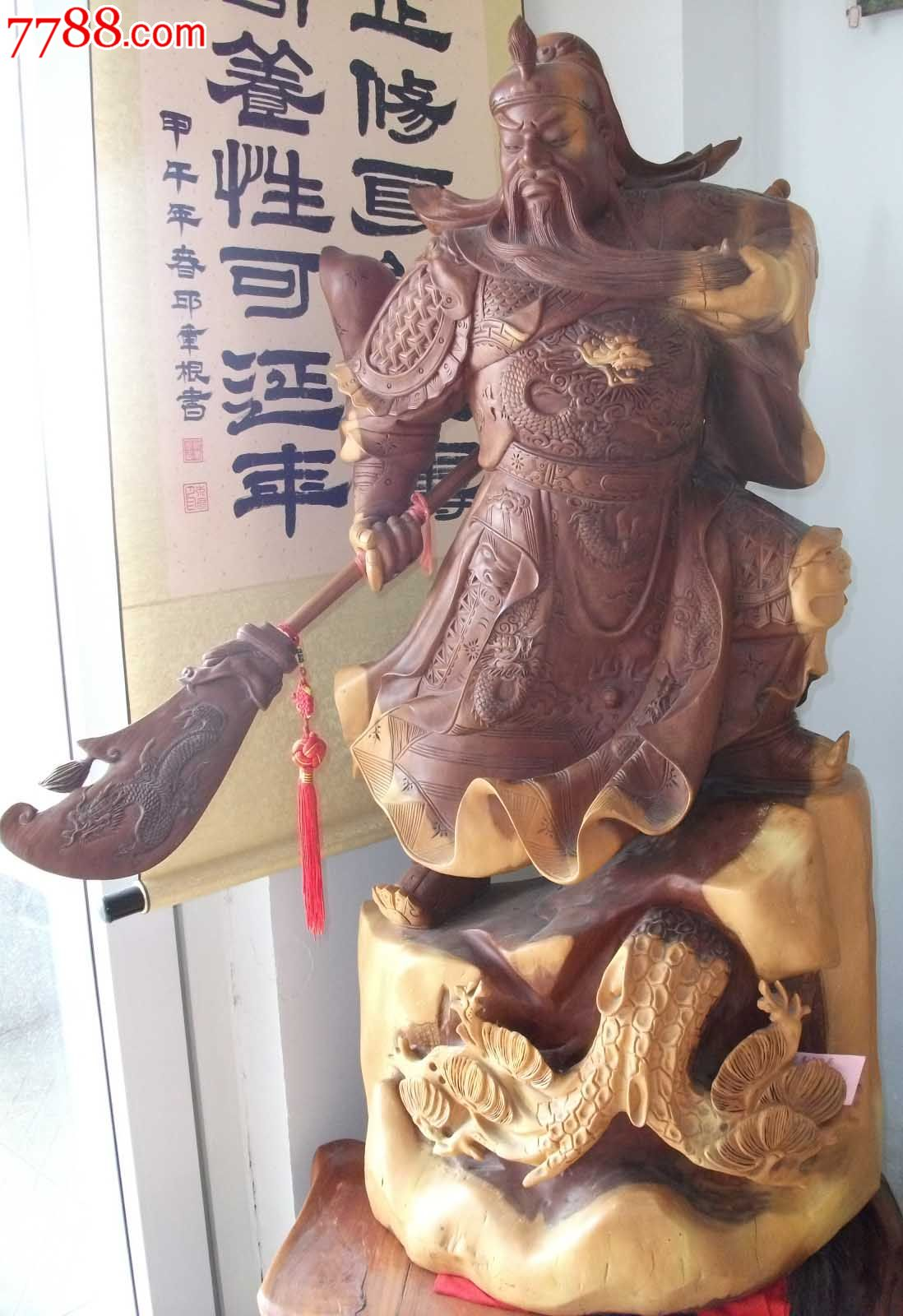 福建泉州-木雕关公