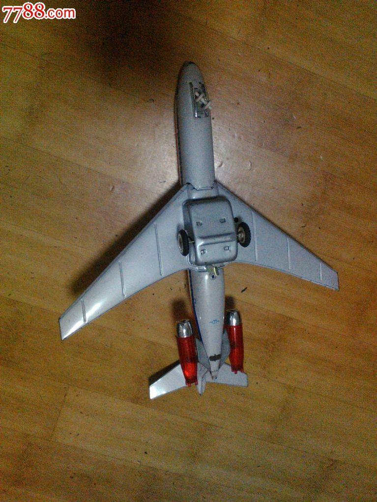 大型铁皮飞机me789_铁皮玩具