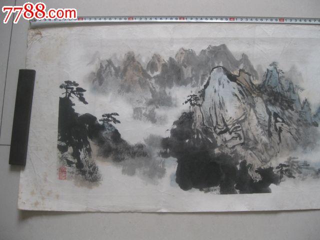 1979年南京著名画家徐培晨作品一幅