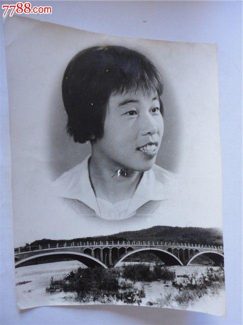 拱桥上面的美女 价格:12元 se24481047