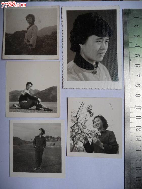 80年代烫发女性足显高贵,体现时代气息的老照片5张一组