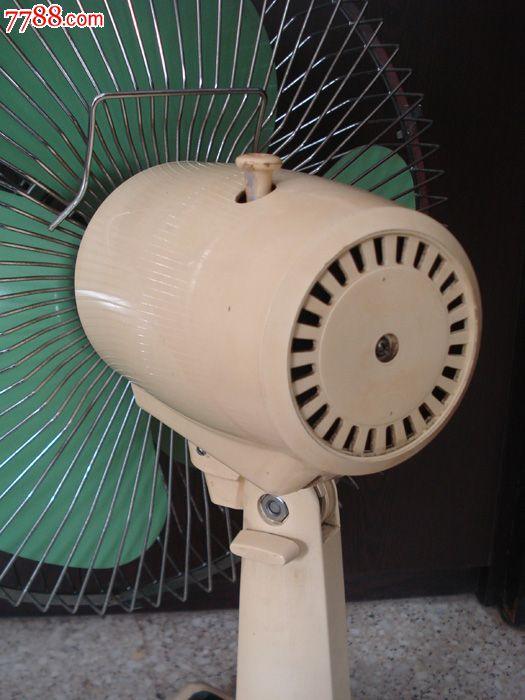 老物件八十年代左右蝙蝠牌老电风扇台式电风扇影视道具怀旧收藏