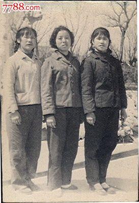 三美女合影照
