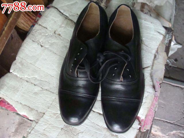 全新老87式军用三接头皮鞋
