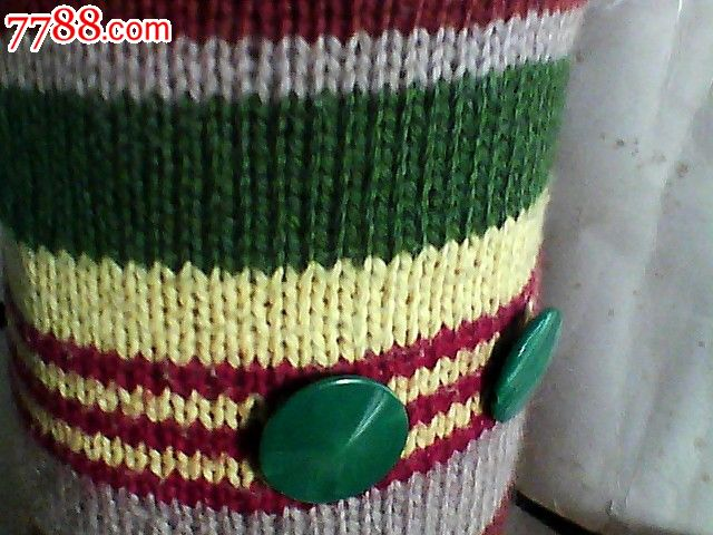 毛线纯手工编织布娃娃