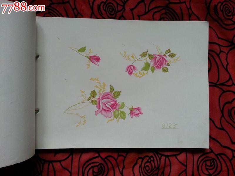 陶瓷贴花纸样本