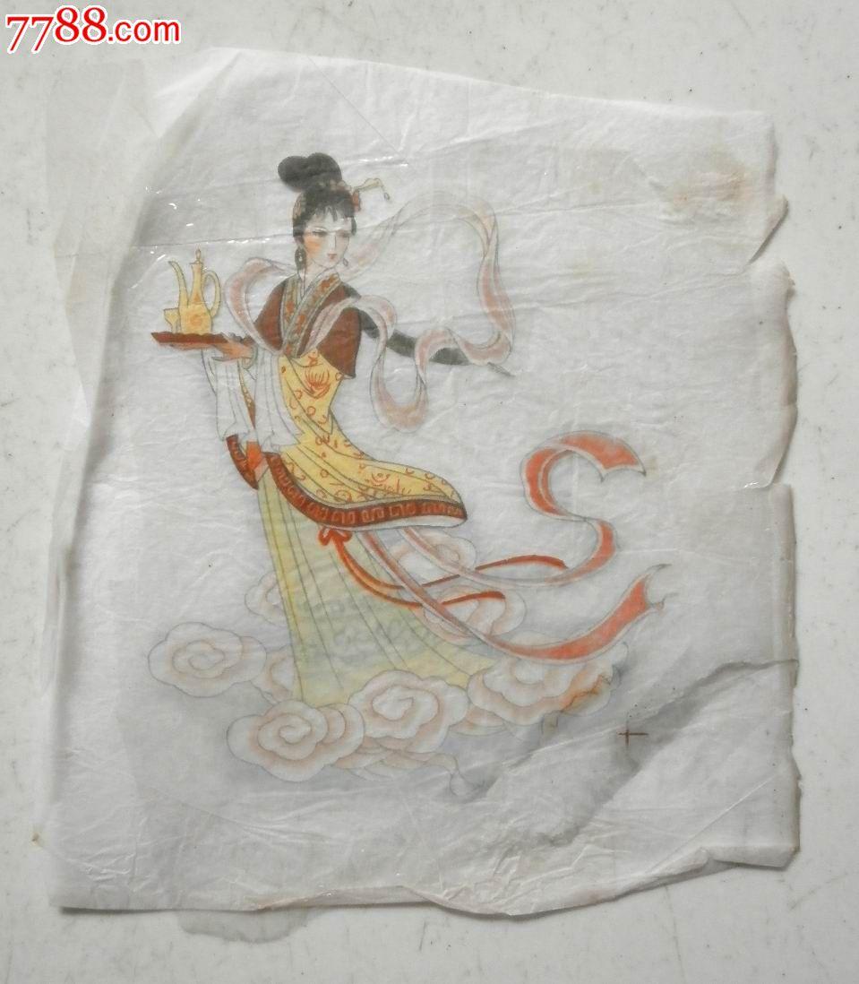 陶瓷贴花纸--麻姑献寿_价格1元_第1张_中国收藏热线