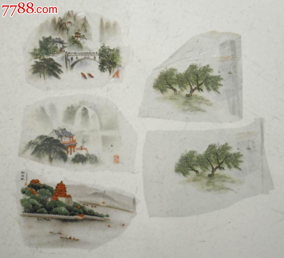 陶瓷贴花纸--山水系列_价格6元_第1张_中国收藏热线