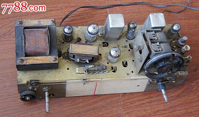 红旗581电子管收音机机芯