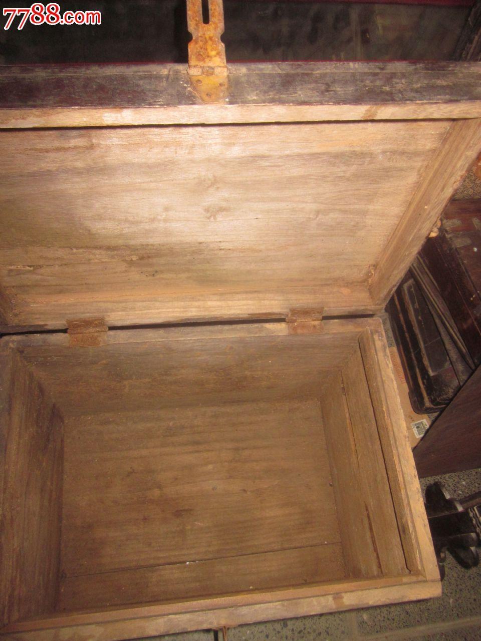 一个五六十年代的老木箱_价格100元_第4张_7788收藏__中国收藏热线