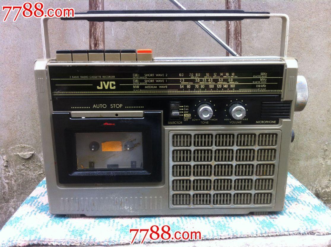 日本原装jvc牌rc-204s收录机