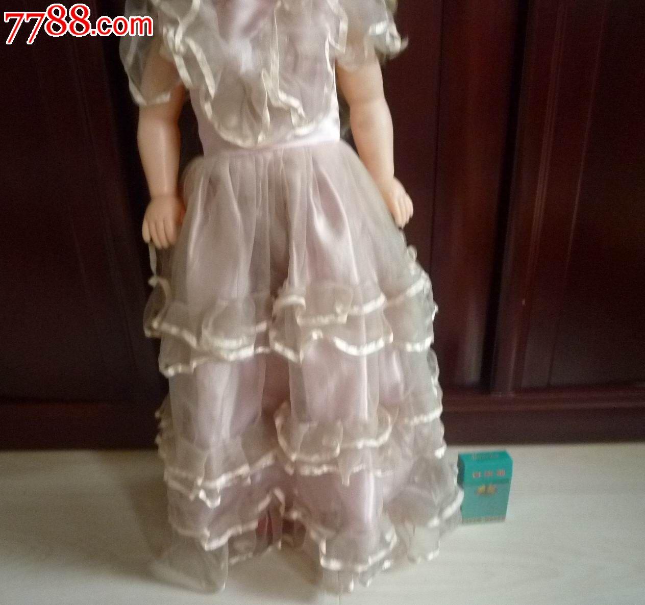 怀旧经典收藏漂亮可爱公主女孩娃娃