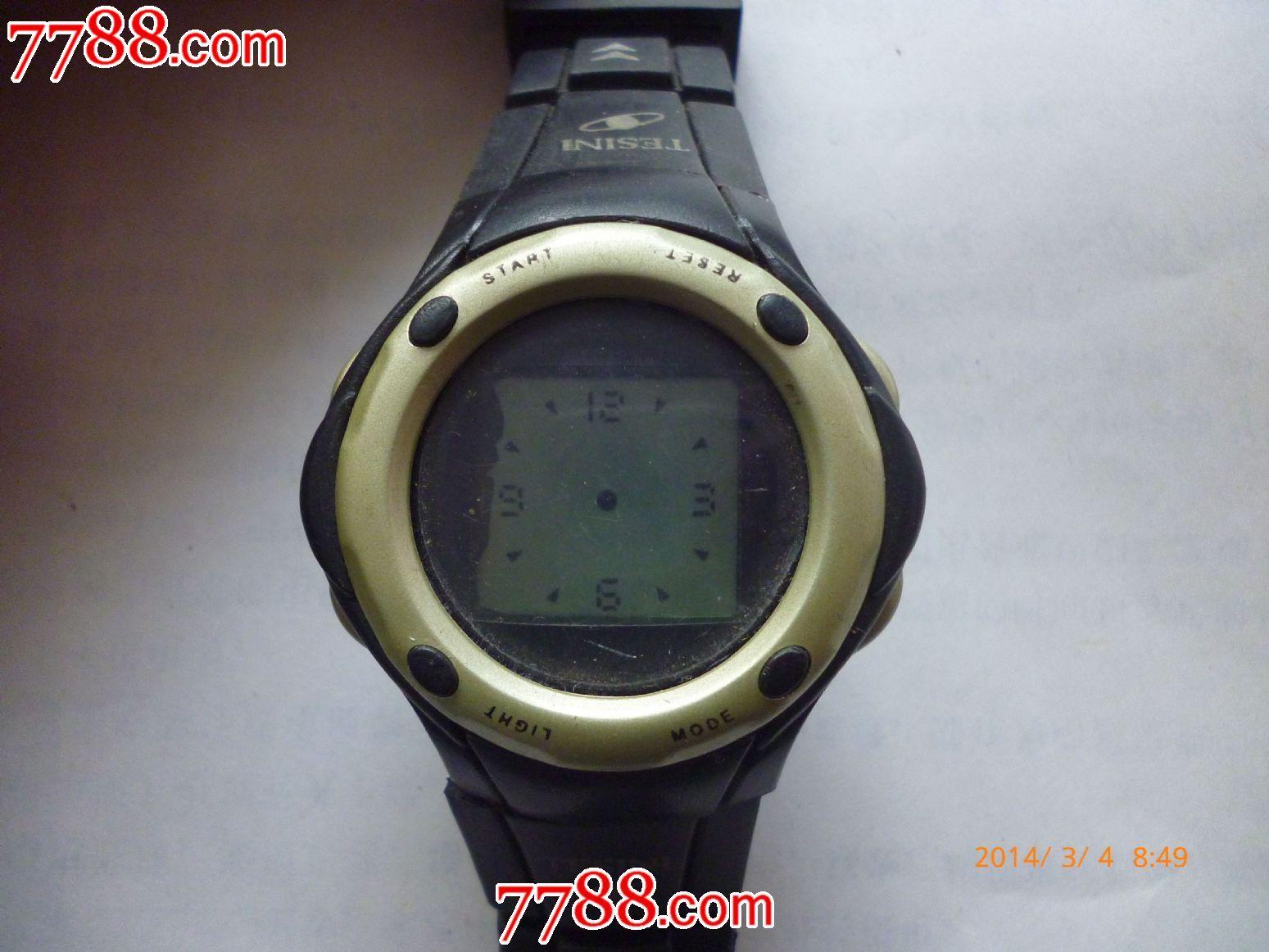 【不知名字】液晶指针显示电子手表一块!